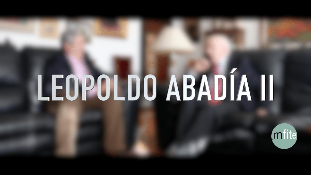 Leopoldo Abadía y la familia empresaria