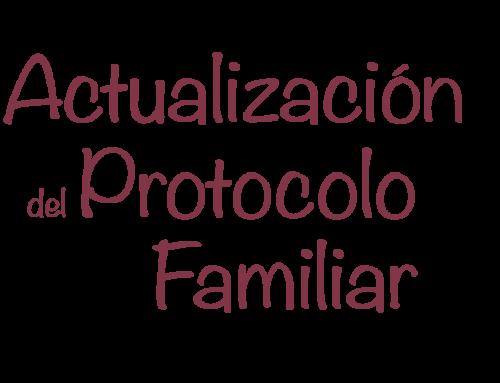 Actualización del Protocolo Familiar